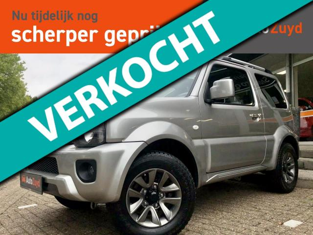 Suzuki Jimny 1.3 Exclusive 4WD Schuifdak/Trekhaak/Leder